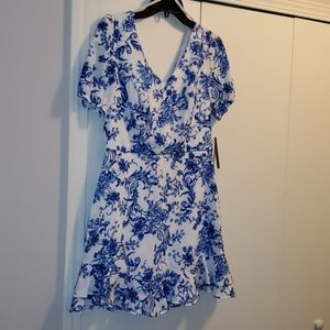 NWT- City Studio Junior Bow Back Dress, size 11